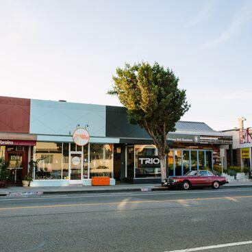 Storefronts in Ocean Park